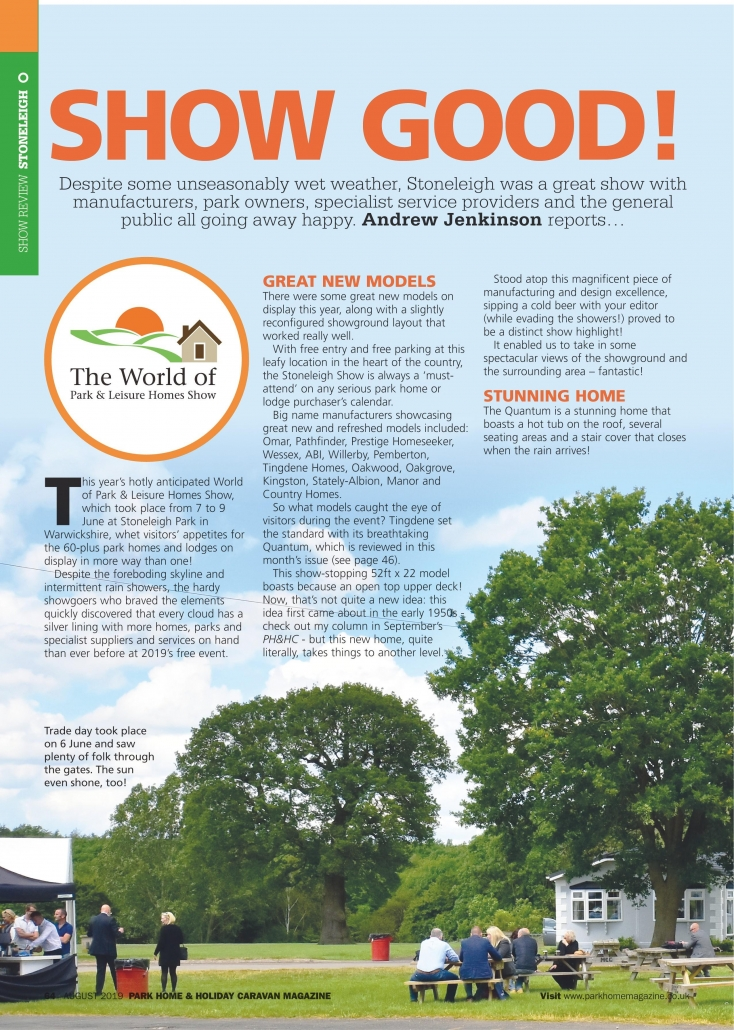 Latest News Archives - Park Home and Leisure